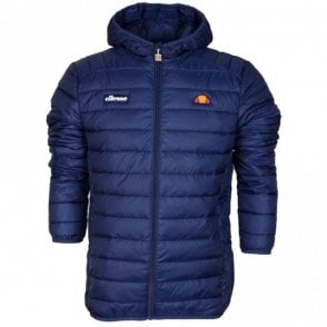 SHS01115 Lombardy Padded Zip Hooded Navy Jacket