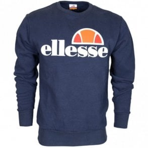 Succiso Crew Neck Dress Blues Sweatshirt