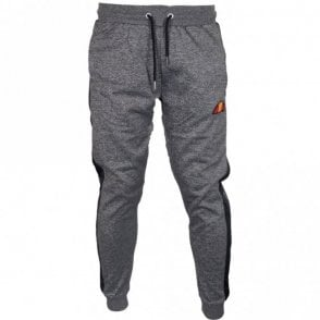 Temporus Polyester Charcoal Marl Tracksuit Bottom