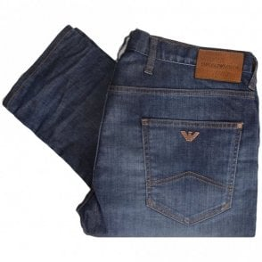 3Z1J10 Skinny Fit Denim Blue Jeans