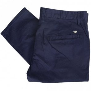 3Z1P15 Cotton Navy Blue Chino