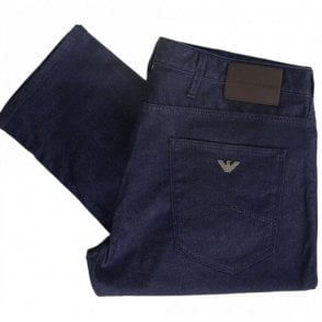 8N1J06 Slim Fit Denim Indigo Blue Jeans