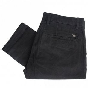 Cotton Black Chino