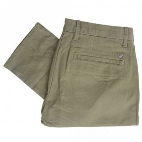 Cotton Khaki Chino