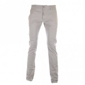 Slim Fit Paint Chino in Khaki