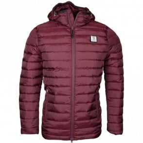119AN Hooded Zip Vintage Port Nylon Jacket