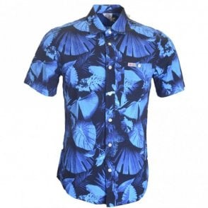 AL328 Hollywood Blue Forest Shirt