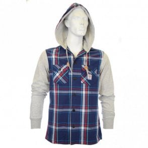 ARC Hooded Shirt in Campus Check