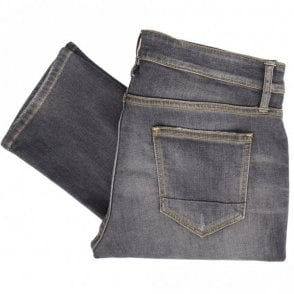 Boston Grey Vintage Repaired Jeans
