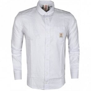 CA297 Martins Long Sleeve White Shirt