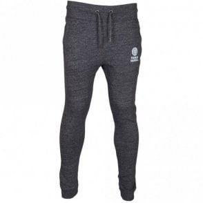 CA335 Skinny Fit Cuffed Leg Smoke Melange Tracksuit Bottom
