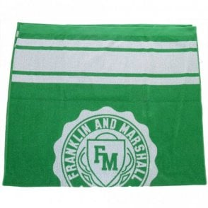 Crest Logo Jelly Green Unisex Beach Towel
