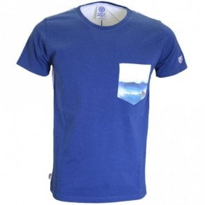 LA252 Surf Regular Fit Original Blue T-Shirt