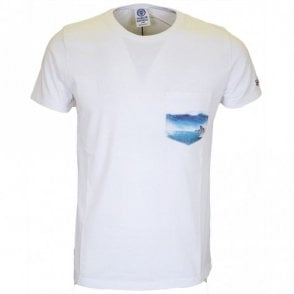 LA252 Surf Regular Fit White T-Shirt