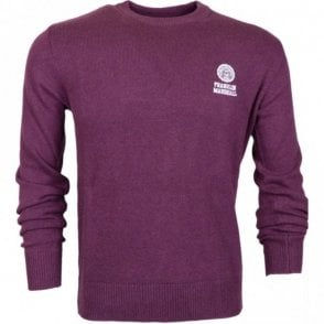 MF150 Wool Round Neck Vintage Port Jumper