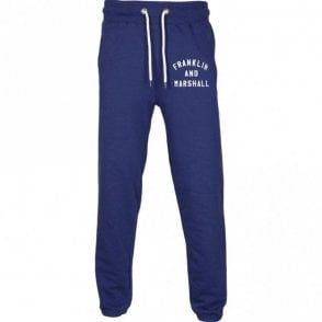 MF310 Regular Fit Elasticated Cuff Leg Navy Tracksuit Bottom