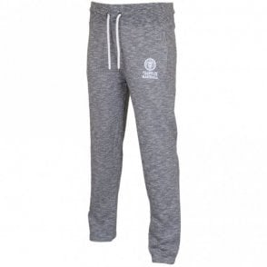 Regular Fit Open Leg Sport Grey Melange Tracksuit Bottom