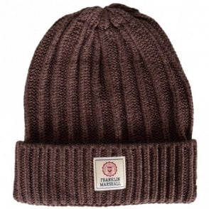 UA910 Ribbed Camp Brown Beanie Hat