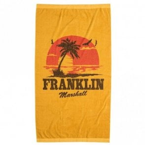 UA942 Printed Gold Sand Unisex Beach Towel