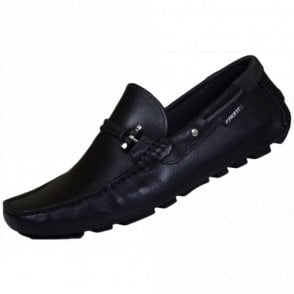 Emerson Leather Black Loafer
