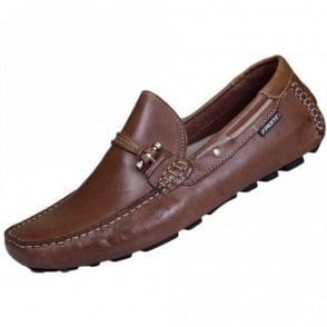 Emerson Leather Brown Loafer