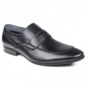 Oban Black Leather Shoes