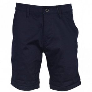 Bronson Straight Fit Mazarine Blue Shorts