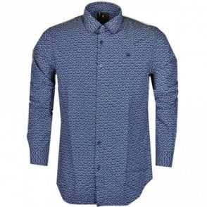 Core Cotton Ink Denim Navy Shirt