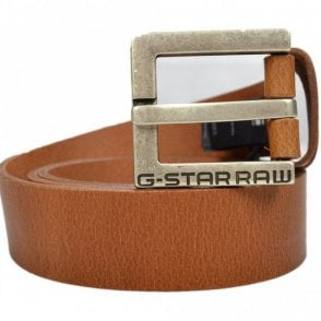 Duko Cuba Leather Brown Belt