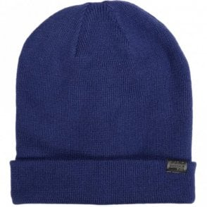 Effo Acrylic Long Imperial Blue Beanie Hat