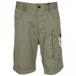 Tendric DC Loose Fit Khaki Shorts