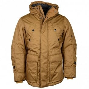 Whistler Twill Short Parka Cubano Brown Jacket