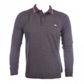 Full Sleeve Polo Grey