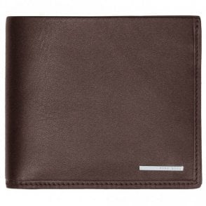 50331896 Ruben_4 Bi-Fold Natural Grain Leather Brown Wallet