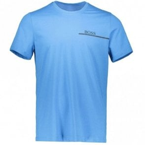 50381167 RN 24 Basic Regular Fit Blue T-Shirt