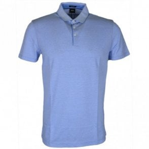 Pack 09 Regular Fit Pima Cotton Blue Polo