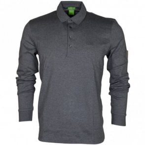 Paderna 30 Long Sleeve Regular Fit Grey Polo