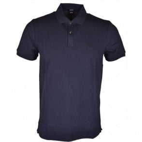 Pallas Regular Fit Pima Cotton Navy Polo