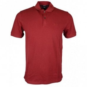Pallas Regular Fit Pima Cotton Red Polo