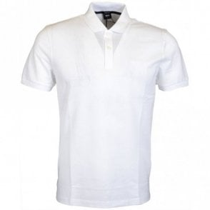 Pallas Regular Fit Pima Cotton White Polo