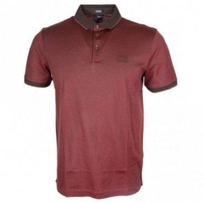 Prout 10 Regular Fit Burgundy Polo