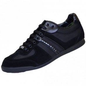 Green Akeen Black Trainer