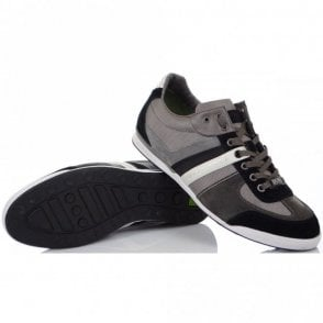Green Akeen Medium Grey Trainer