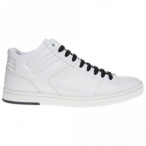 Rayadv MIDC High Top Leather White Trainer