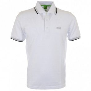 Paddy Regular Fit Pique White Polo