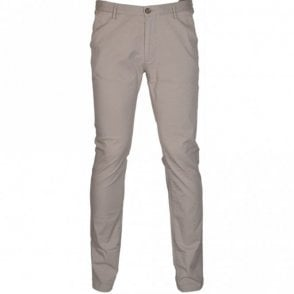 Rice3-D Slim Fit Stretch Beige Chino