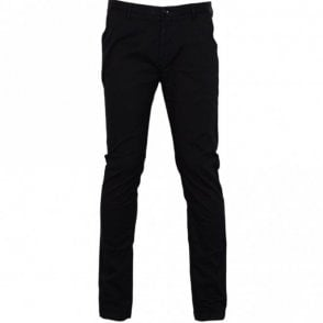 Rice3-D Slim Fit Stretch Black Chino