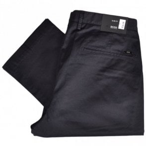 Rice3-W Slim Fit Stretch Navy Chino