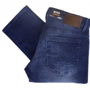 50382034 72 Comodo Skinny Fit Indigo Wash Knit Denim Jeans