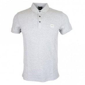 Passenger Short Sleeve Cotton Grey Polo Shirt